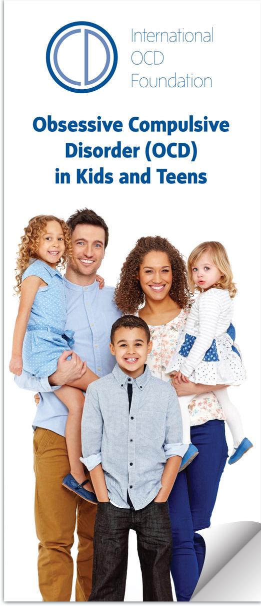 OCD in Kids and Teens Brochure